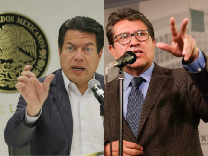 Resultado de imagen para Mario Delgado y Ricardo Monreal