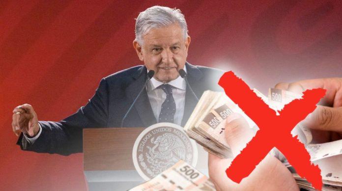 Resultado de imagen para AMLO ELIMINAN CONDONACIÓN DE IMPUESTOS